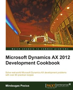 Microsoft Dynamics AX 2012 Development Cookbook-cover