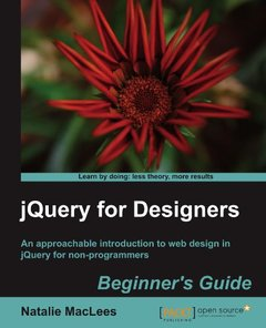 jQuery for Designers: Beginner's Guide-cover