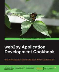 web2py Application Development Cookbook-cover
