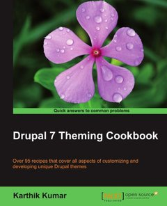 Drupal 7 Theming Cookbook-cover