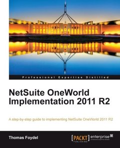 NetSuite OneWorld Implementation 2011 R2-cover