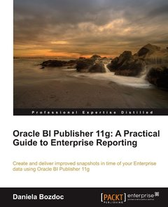Oracle BI Publisher 11g: A Practical Guide to Enterprise Reporting-cover