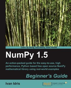 NumPy 1.5 Beginner's Guide-cover
