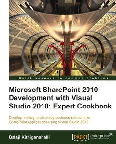 Microsoft SharePoint 2010 Development with Visual Studio 2010 Expert Cookbook-cover
