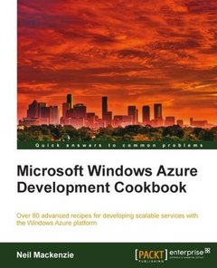 Microsoft Windows Azure Development Cookbook-cover