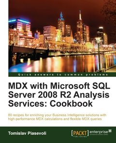 MDX with Microsoft SQL Server 2008 R2 Analysis Services Cookbook-cover