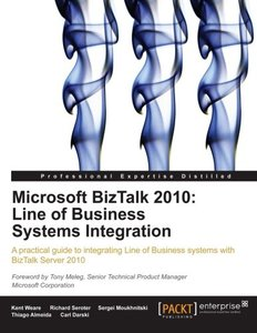 Microsoft BizTalk 2010: Line of Business Systems Integration-cover