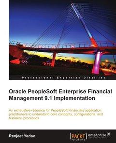 Oracle PeopleSoft Enterprise Financial Management 9.1 Implementation-cover