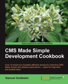 CMS Made Simple Development Cookbook-cover