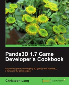 Panda3D 1.7 Game Developer's Cookbook-cover
