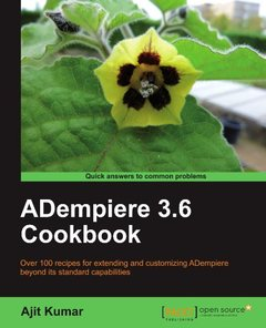 ADempiere 3.6 Cookbook (Paperback)-cover