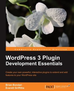 WordPress 3 Plugin Development Essentials-cover