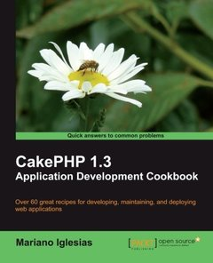 CakePHP 1.3 Application Development Cookbook-cover