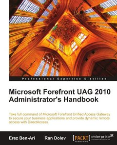 Microsoft Forefront UAG 2010 Administrator's Handbook-cover