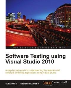 Software Testing using Visual Studio 2010-cover