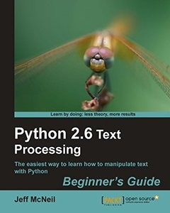 Python 2.6 Text Processing: Beginners Guide-cover