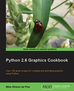 Python 2.6 Graphics Cookbook-cover