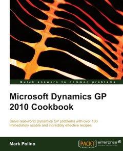 Microsoft Dynamics GP 2010 Cookbook-cover