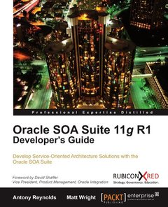 Oracle SOA Suite 11g R1 Developer's Guide-cover