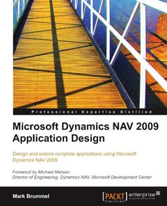 Microsoft Dynamics NAV 2009 Application Design-cover