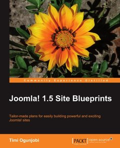Joomla! 1.5 Site Blueprints-cover