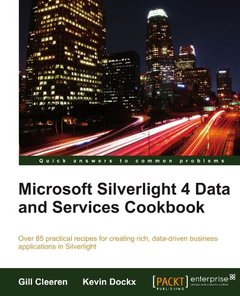 Microsoft Silverlight 4 Data and Services Cookbook-cover