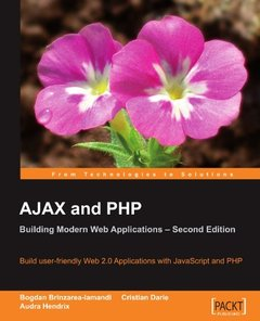AJAX and PHP: Building Modern Web Applications, 2/e (Paperback)-cover