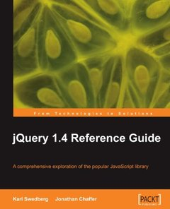 jQuery 1.4 Reference Guide-cover