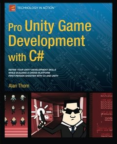 Pro Unity Game Development with C# (Paperback)-cover
