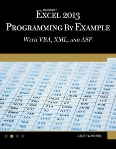 Microsoft Excel 2013 Programming by Example with VBA, XML, and ASP (Paperback)-cover