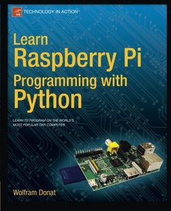 Learn Raspberry Pi Programming with Python (Paperback)-cover