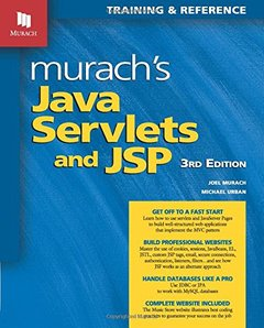 Murach's Java Servlets and JSP, 3/e (Paperback)-cover