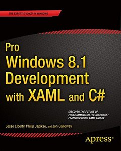 Pro Windows 8 Development with Xaml and C# (New)-cover