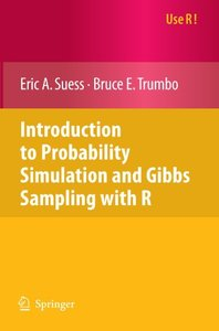 Introduction to Probability Simulation and Gibbs Sampling with R (Paperback)-cover