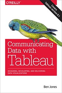 Communicating Data with Tableau (Paperback)-cover