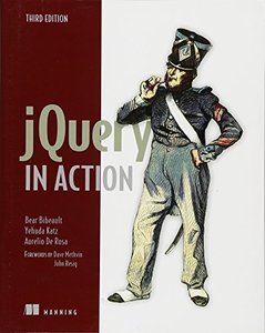 jQuery in Action, 3/e (Paperback)-cover