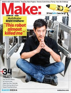Make: Technology on Your Time Volume 39: Robotic Me (Paperback)-cover