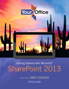 Your Office: Getting Started with Microsoft SharePoint 2013 (Paperback)-cover