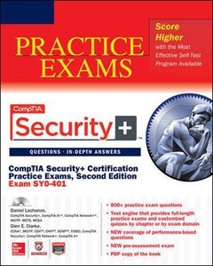 CompTIA Security+ Certification Practice Exams, 2/e (Exam SY0-401) (Paperback)-cover