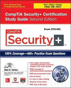 CompTIA Security+ Certification Study Guide, 2/e (Exam SY0-401) (Paperback)-cover