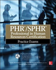 PHR/SPHR Professional in Human Resources Certification Practice Exams (Paperback)-cover