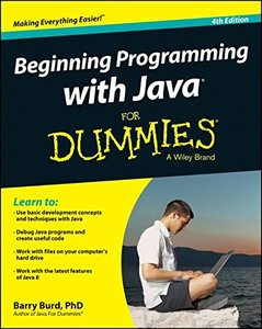 Beginning Programming with Java For Dummies, 4/e (Paperback)-cover