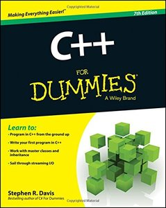 C++ For Dummies, 7/e (Paperback)-cover