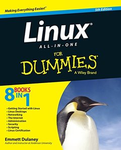 Linux All-in-One For Dummies, 5/e (Paperback)-cover