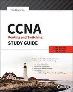 CCNA Routing and Switching Study Guide: Exams 100-101, 200-101, and 200-120 (Paperback)-cover