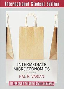 Intermediate Microeconomics: A Modern Approach, 9/e (IE-Paperback)-cover