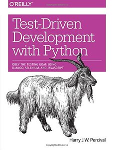 Test-Driven Development with Python (Paperback)-cover