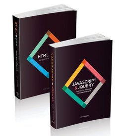 Web Design with HTML, CSS, JavaScript and jQuery Set (Paperback)-cover
