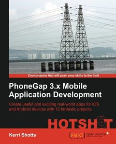 PhoneGap 3.x Mobile Application Development Hotshot-cover
