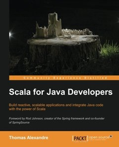 Scala for Java Developers (Paperback)-cover